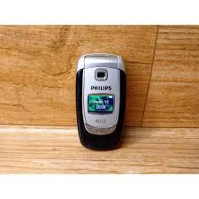 HP Handphone Philips S800 Putih Flip ...