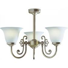 antique brass light for low ceilings