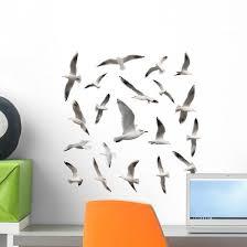 Seabirds Seagull Bird Wall Stickers Wallmonkeys Com