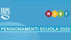 Pensionamenti scuola 2020, accordo INPS-Miur Roma