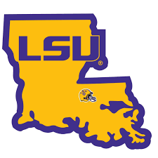 Ncaa Lsu Tigers Home State Decal Auto Car Window Vinyl Sticker For Sale Online Ebay