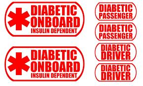 Bricals Vinyl Decals Diabetes Medical Al Buy Online In Albania At Desertcart