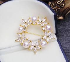 DIY Accessory Fashion Simple Day South Korea Corsage Pearl Brooch ...