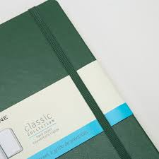Moleskine - Classic H/C Dotted N/Book Myrtle Green Large | Peter's ...