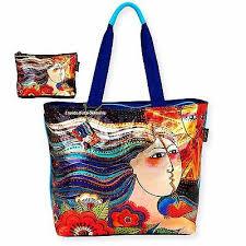 mermaid foiled large tote bag mikayla
