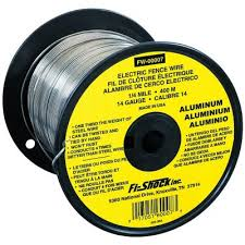 Fi Shock Aluminum Wire 14 Gauge 1 4 Mile Fw 00007t At Tractor Supply Co
