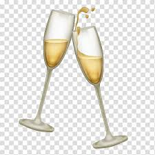 two flute glasses champagne glass