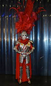 """A Knight in Shining Latex: Prince Poppycock Ends His Spectacular Run on  """"America's Got Talent"""" in Rubber From Syren Couture and Armor From Michael  Schmidt Studios"""