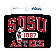 Shopaztecs Sdsu X Disney Sdsu Aztecs 1897 Decal