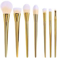 7pcs rt golden makeup brush set pro