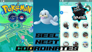 Pokemon Go] POKEMON GO SPOOFING , Seel Nest Coordinate 2020 - YouTube