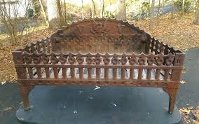 howes antique cast iron fireplace coal