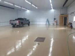 refinish concrete and wood floors