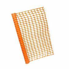 Bisupply 4 Ft Safety Fence 50 Ft Plastic Fencing Roll Orange Fencing For Sale Online