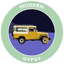 Modern Gypsy Land Cruiser Jeep Explore Logo 3 5 Die Cut Auto Window D Athena Brands