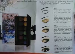 sleek makeup i divine arabian nights
