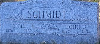 Effie Wedel Schmidt (1876-1959) - Find A Grave Memorial