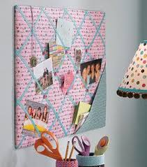 Easy To Make Memo Board For Dorm Room Or Kids Bedroom Diy Memo Board Fabric Memo Boards Memo Board
