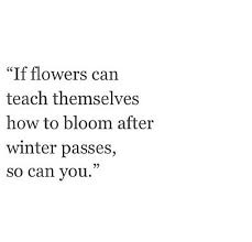 flowers bloom after winter shared by ash❃ on we heart it