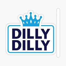 Dilly Dilly Stickers Redbubble