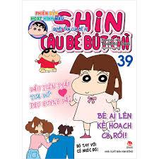 Sách - Shin - Cậu Bé Bút Chì - Phiên Bản Hoạt Hình Màu (Tập 39 ...