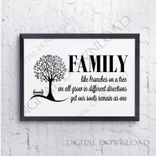 family tree quote svg family saying to print family quote dxf