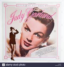Judy Garland, Over The Rainbow album cover Stock Photo: 44118123 ...