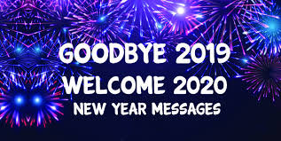goodbye welcome new year wishes messages