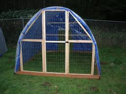 Hoop Coop The Perfect Chicken Coop Cheap To Build With Welded Wire Fence Panels Overlay Chicken Wire 4 2x Backyard Fences Diy Garden Fence Front Yard Fence