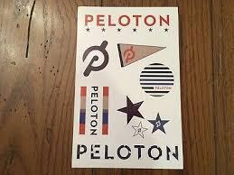 New Peloton Boutique Laptop Sticker Decal Sheet Cycling Bike Treadmill Tread Ebay