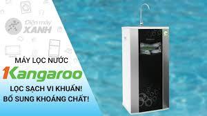 Máy lọc nước RO Kangaroo 9 lõi: tinh khiết tuyệt đối, thêm khoáng chất (VTU  KG100HA)