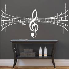 Music Symbol Wall Decal Trendy Wall Designs