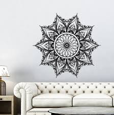 Bungalow Rose Mandala Wall Decal Wayfair