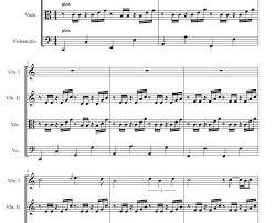 Over the Rainbow IZ Sheet music - String quartet - Violin - Viola ...