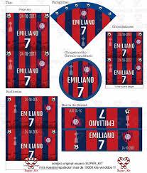 Kit Imprimible San Lorenzo Futbol Invitacion 2020 Promo 2x1 99