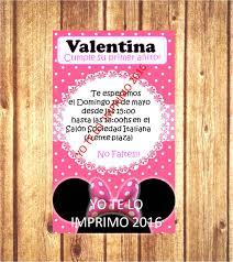 Invitaciones Tarjetas Mickey Minnie Archivo Para Imprimir 75