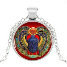 egyptian scarab pendant ancient egypt