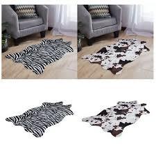 zebra animal skin floor wall rug pelt