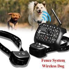 Hot 3 Dog Pet Collar Electronic Shock Fence Training Systems Shopee Singapore