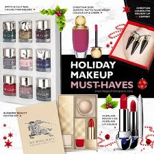 holiday makeup must haves happy