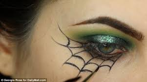 spider web eye makeup makeup