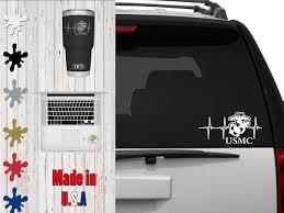 Usmc Us Marine Corps Life Car Decal Choose Your Size Car Decal Laptop Decal Mug Decal Tumbler Decal Cup Decal Phone Decal Phone Decals Tumbler Decal Laptop Decal