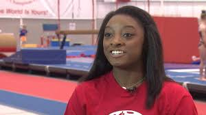 One-on-one interview with Simone Biles ...