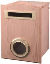 Buy Online Cedar Victorian Mailbox Demak Outdoor Timber Hardware