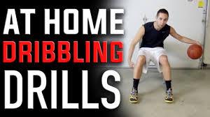 at home basketball dribbling drills
