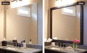 mirror frames for bathroom in decors