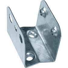 One Slot Fencing Set Of 24 Universal Fence Brackets Fix Timber Fence Rails To Wooden Fence