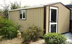 garden sheds steel garages uk