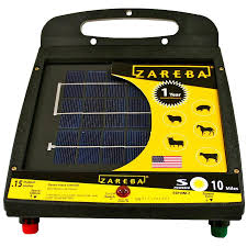 Zareba Systems 10 Mile Solar Low Impedance Fence Charger In The Electric Fence Chargers Department At Lowes Com