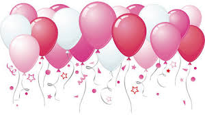 pink balloons other abstract